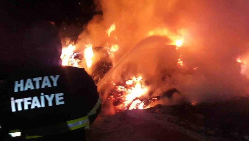 Kırıkhan'daki Yangın 7 Saatte Kontrol Altına Alındı
