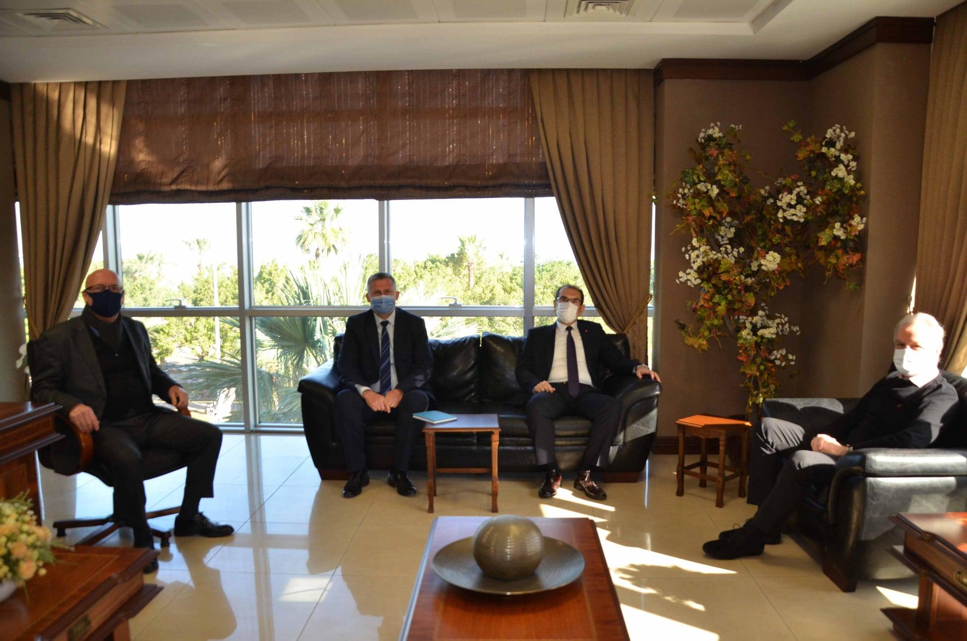 Merkez Bankası İskenderun Şube Müdürü ALPAR'dan İTSO'ya Ziyaret