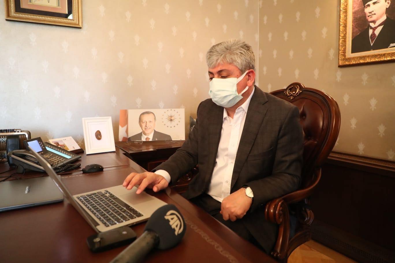 Vali Doğan'dan 10 Ocak Gazeteciler Günü Mesajı