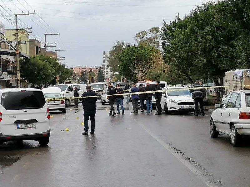 İskenderun'da Silahlı Çatışma