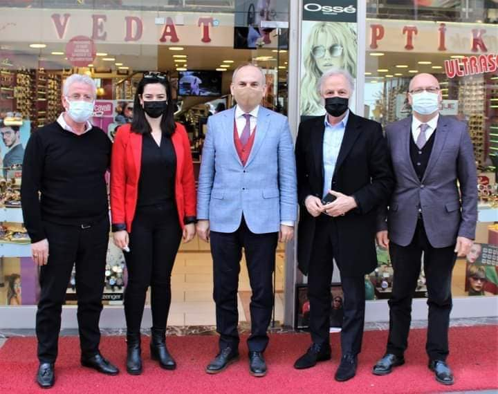 İTSO Başkanı Yılmaz Kaymakam Yönden İle Birlikte  Esnafları Ziyaret Etti