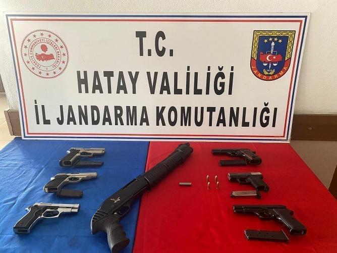 Jandarmadan kaçak silah imalatı baskını