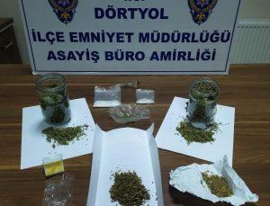 Dörtyol'da Uyuşturucu Kullanıcıları Yakalandı!