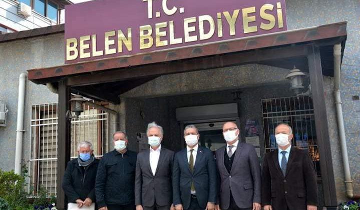 İTSO Yönetiminden Başkan Gül'e Ziyaret
