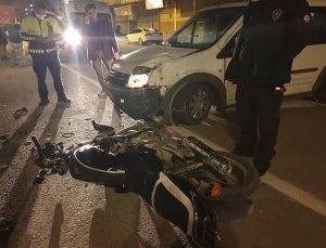 Reyhanlı'da Trafik Kazası: 1 Yaralı