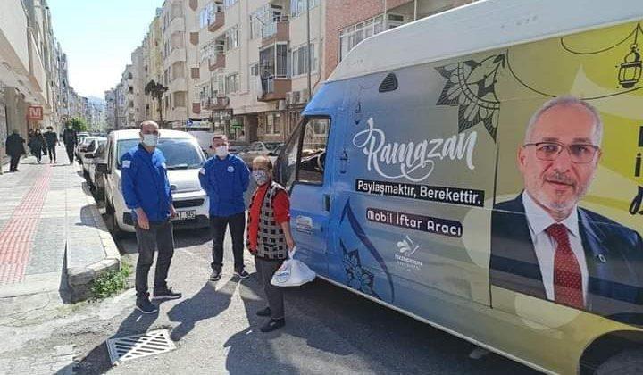 BAŞKAN TOSYALI: RAMAZAN'DA SICAK YEMEK DAĞITIMI YAPIYORUZ