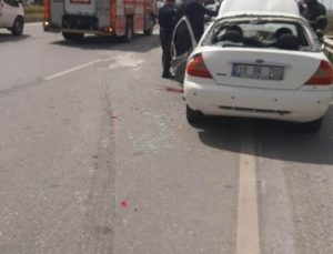Arsuz'da trafik kazası 1 ölü