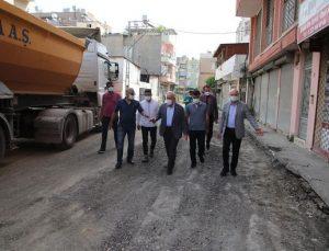 Başkan Tosyalı : Sokağa Çıkma Kısıtlamasında da Sahadayız