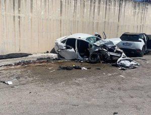 Antakya'da Feci Kaza : 3 Kişi Hayatını Kaybetti Yaralılar Var