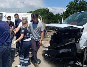 Dörtyol'da Kaza 1 Ölü 4 Yaralı
