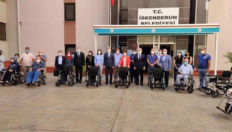 Başkan Tosyalı : Akülü Tekerlekli Sandalye Dağıtımlarımız Sürüyor
