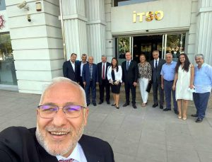 Başkan Tosyalı, İTSO'yu Ziyaret Etti